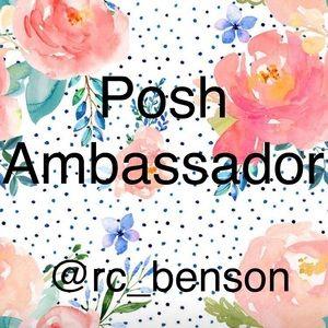 Posh Ambassador @rc_benson
